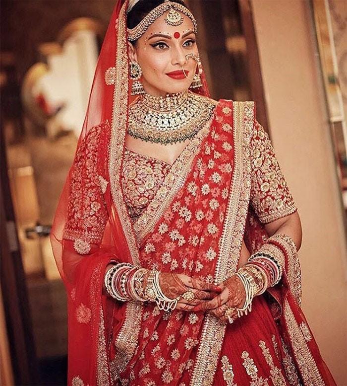 North India, bride, saree, jewels