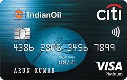 Indian Oil Citi Platinum credit card