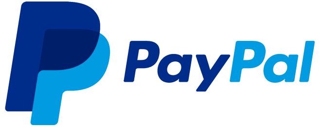 PayPal logo, online transactions