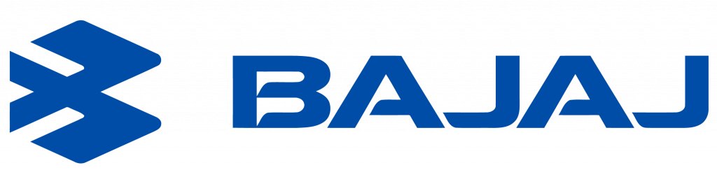 Image shows the logo of Bajaj group  which is one of the oldest company of India.