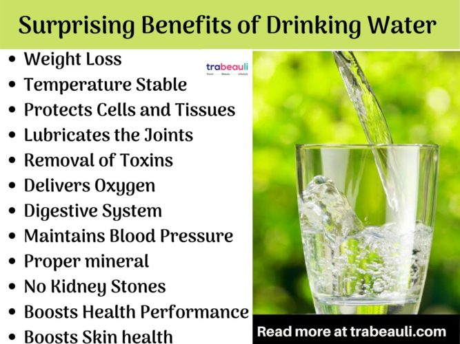 Drinking more and more water will destroy all the bacteria inside you and it will keep you fit.