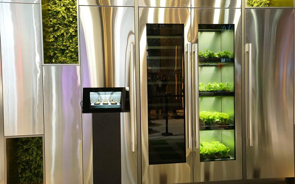 LG indoor gardening appliance