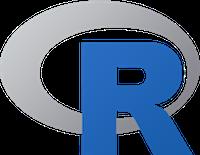 logo of R programming language
