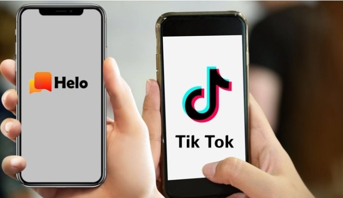 tik tok and halo apps
