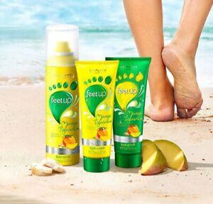 Feet Up Scrub, Cream and Spray