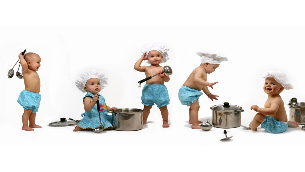 cooking baby cooking