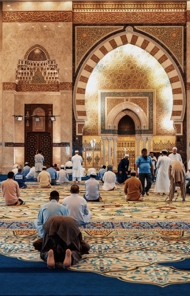 Muslims in Mosques
