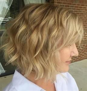 short hair with natural waves