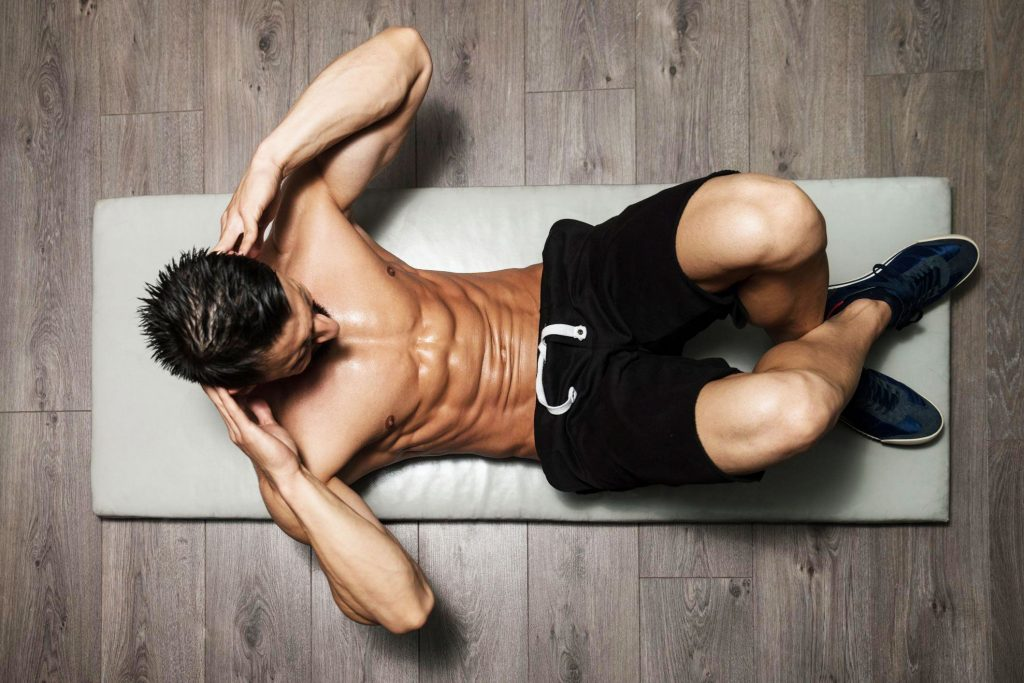 situps for core strength