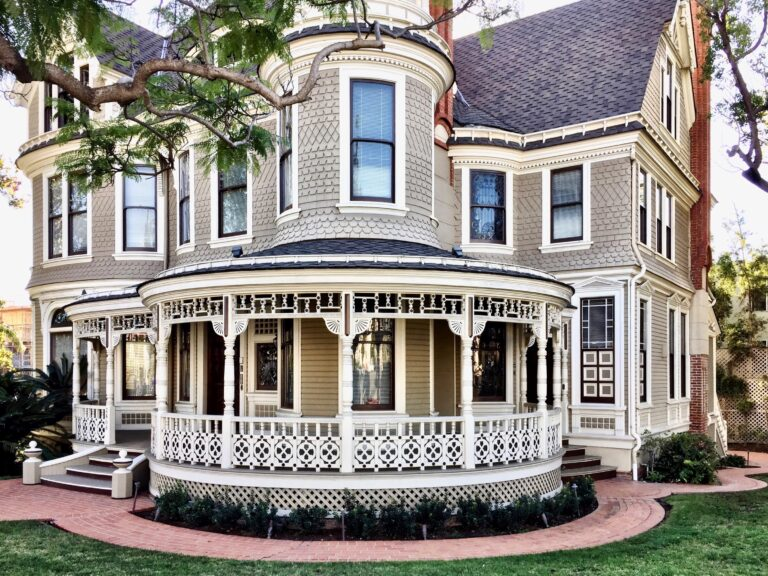 victorian gothic style house