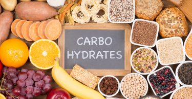 Food rich in carbohydrate