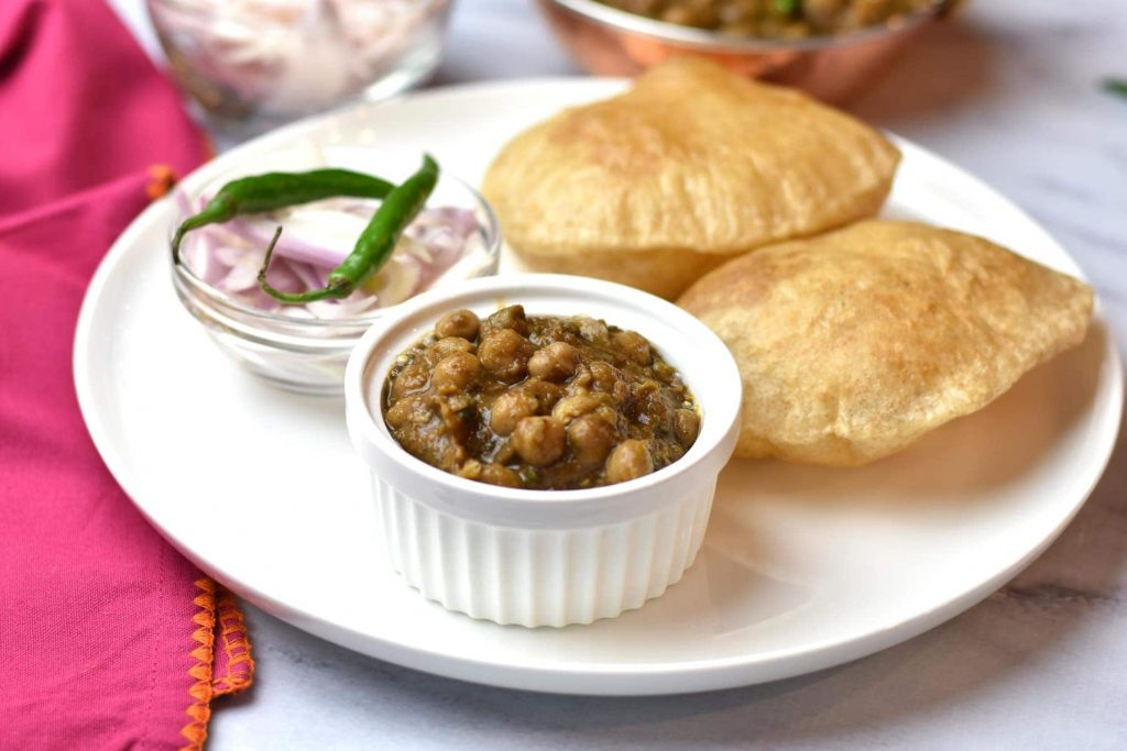 CHOLE BHATURE, Punjab, street food