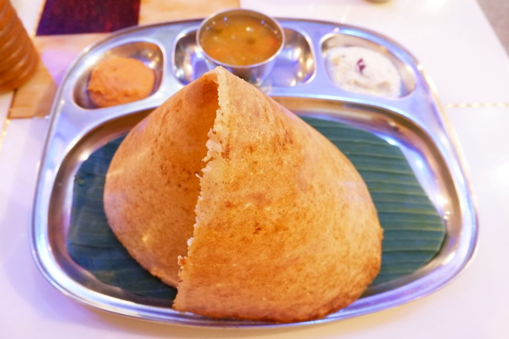 Variety dosa, South India, street food