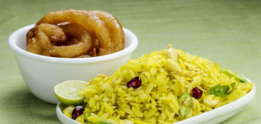 POHA JALEBI, Indore, street food