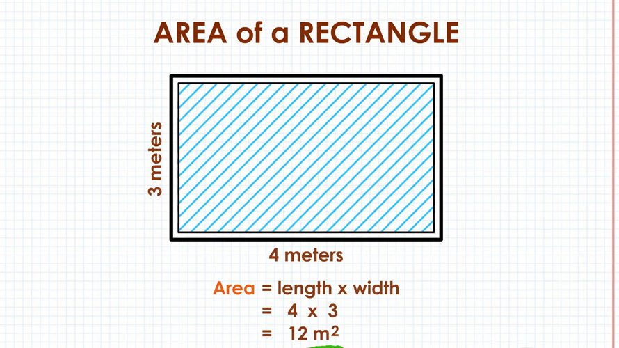 How To Calculate The Area Of The Rectangle Using The Formula